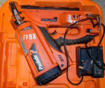 Paslode nail gun c/w charger & carry case A762184 ** No battery **