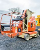 JLG Toucan 10E battery electric mast boom lift access platform Year: 2012 S/N: E300000743 Recorded