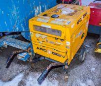 Arc Gen Weldmaker 200 SSD diesel driven welder generator