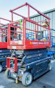 Skyjack SJIII 3219 battery electric scissor lift access platform Year: 2013 S/N: 22048481 SHB0477