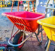 Scaffold hoist wheel barrow