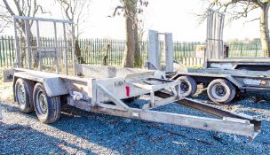 Indespension 8ft x 4ft tandem axle plant trailer A681966