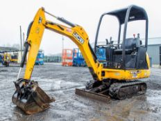 JCB 801.4 CTS1.5 tonne rubber tracked mini excavator Year: 2014 S/N: 2070484 Recorded Hours: 1398