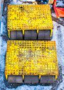 2 - machinery skates H01014/H01016
