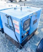 Genset MGMK 10000 10 kva diesel driven generator Recorded Hours: MS2743