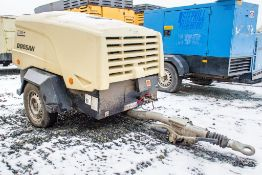Doosan 7/31E+ diesel driven mobile air compressor Year: 2016 S/N: 323710 Recorded Hours: 147 VPD