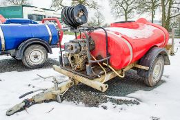Trailer Engineering diesel driven fast tow pressure washer bowser 18106727 VPD ** Parts missing **