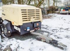 Doosan 7/31E+ diesel driven mobile air compressor Year: 2016 S/N: 323609 Recorded Hours: 2548 1602-
