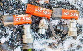 3 - Hi Force hydraulic cylinder jacks A727795/A727798/A727796