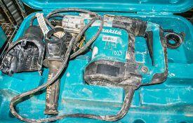 Makita 110v SDS rotary hammer drill c/w carry case ** Damaged **