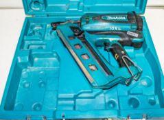 Makita nail gun c/w carry case ** No charger or battery **