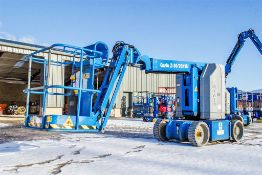 Genie Z-30/20 battery electric boom lift access platform Year: 2014 S/N: 15129 Recorded Hours: 208