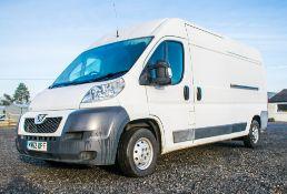 Peugeot Boxer 335 L3H2 professional diesel driven panel van Registration Number: MW62 UPF Date of