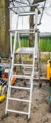 Tubesca aluminium  step ladder ARP890