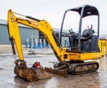 JCB 8014 CTS 1.5 tonne rubber tracked excavator Year: 2014 S/N: 2070490 Recorded Hours; 2264 Piped,