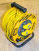 Quantity of 110v extension leads & reel