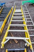7 tread glass fibre framed step ladder A774416