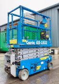 Genie GS1932 battery electric scissor lift Year: 2008 Recorded Hours: 291 S/N: 46201