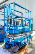 Genie GS1930 battery electric scissor lift Year: 1998 Recorded Hours: 584 08837006