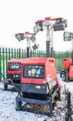 Mosa GE 6000 SX/GS diesel driven tower light/generator Year: 2014 Recorded Hours: 596 1411-4920