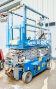Genie GS1932 battery electric scissor lift Year: 2007 Recorded Hours: 309 08830042