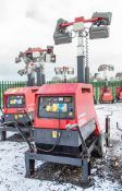 Mosa GE 6000 SX/GS diesel driven tower light/generator Year: 2014 Recorded Hours: 1252 1410-4138