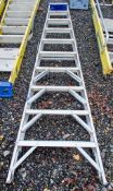 10 tread aluminium step ladder A773116
