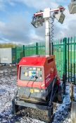 Mosa GE 6000 SX/GS diesel driven tower light/generator Year: 2015 Recorded Hours: 584 S/N: 46201