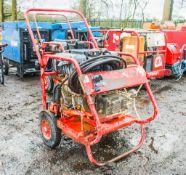 Demon diesel driven mobile pressure washer