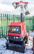 Mosa GE 6000 SX/GS diesel driven tower light/generator Year: 2014 Recorded Hours: 790 1410-4121