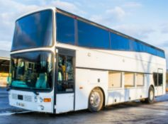 Vanhool double decker luxury tour coach Registration Number: DIB 2061 Date of Registration: 10/06/