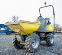 Wacker Neuson 1 tonne hi-tip dumper Year: 2016 S/N: PAL00726 Recorded Hours: 11253 DPR020