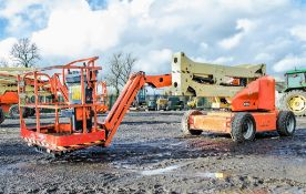 JLG M450AJ battery electric articulated boom access platform Year : 2006 S/N: 2718 c/w generator