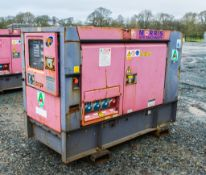 Denyo 25 USE 25 kva diesel driven generator Year: 2012 S/N: 3861358 Recorded Hours: 8891 A628529