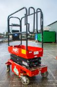 Pop-up PRO 10 iQ battery electric push around scissor lift  Year: 2016 S/N: 01-000935 A740393
