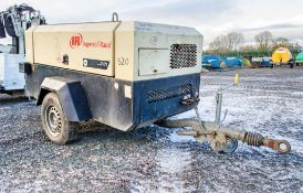 Ingersoll Rand 7/71 diesel driven air compressor Year: 2006 S/N: 521720 Recorded Hours: 3503