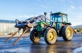 John Deere 3040 4wd diesel tractor
