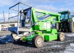 Nifty HR12 battery electric/diesel articulated boom lift access platform Year: 2007 S/N: 16530 SHC