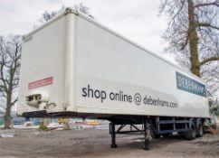 Donbur 12.2 metre tandem axle box trailer Serial Number: H03900010089 Identification Mark: