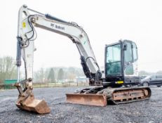 Bobcat E85 8.5 tonne rubber tracked excavator Year: 2011 S/N: B34S11956 Recorded Hours: 4317