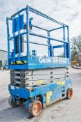 Genie GS 1932 battery electric scissor lift access platform Year: 2015 S/N: 19508 Recorded Hours: