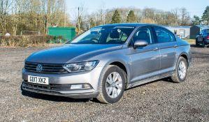 Volkswagen Passat S TDI Bluemotion 4 door automatic saloon car Registration Number: GD17 XKZ Date of