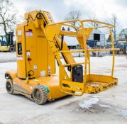 Haulotte Star 10 battery electric vertical mast boom lift access platform Year: 2014 S/N: 113108