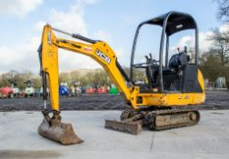 JCB 801.4 1.5 CTS tonne rubber tracked mini excavator Year: 2014 S/N: 2078489 Recorded Hours: 1224