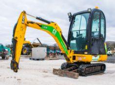 JCB 801.6 1.5 tonne rubber tracked mini excavator Year: 2015 S/N: 2071769 Recorded Hours: 1518