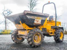Barford SXR6000 6 tonne swivel skip dumper Year: 2008 S/N: SMWB0183 Recorded Hours: 2896