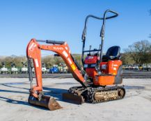 Kubota K008-3 0.8 tonne rubber tracked micro excavator Year: 2017 S/N: 29572 Recorded Hours: 732