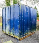 10 ft x 8 ft steel container