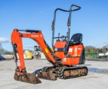 Kubota K008-3 0.8 tonne rubber tracked micro excavator Year: 2017 S/N: 29349 Recorded Hours: 682