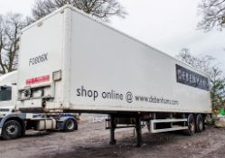 Donbur 12.2 metre tandem axle box trailer Identification Mark: C277393 Year of Manufacture: 2008